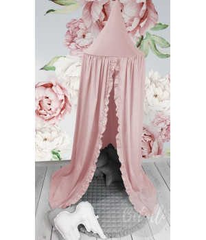 Canopy Powder Pink with frill