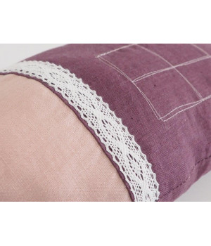 Natural Linen Pillow Home 6