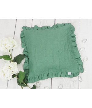 Natural Linen Cover for Pillow 40x40cm