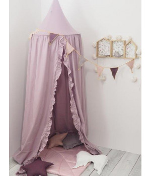 Canopy violet with frill