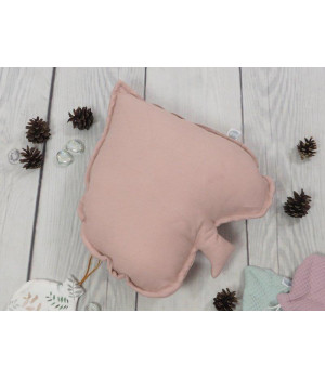 Natural Linen leaf Pillow...