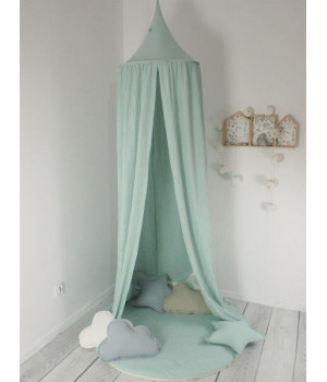 Muslin Cotton Canopy Dusty...