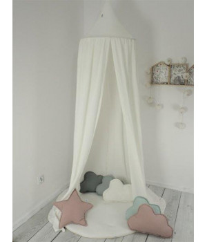 Set Muslin Canopy White +...