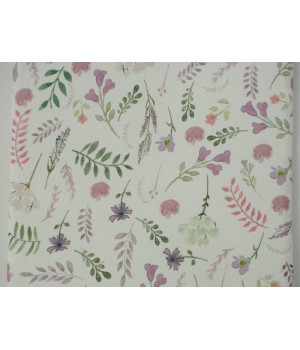 Bettlaken 60x120 Satin Flowers