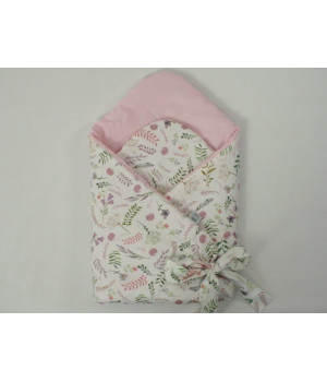 Baby Wrap Satin Flowers