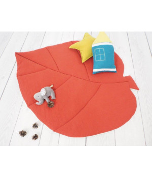 Muslin Play mat leaf  Brick...