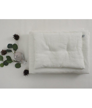 Natural Linen Bedding with...