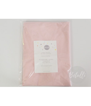Fitted sheet 60x120 Powder pink